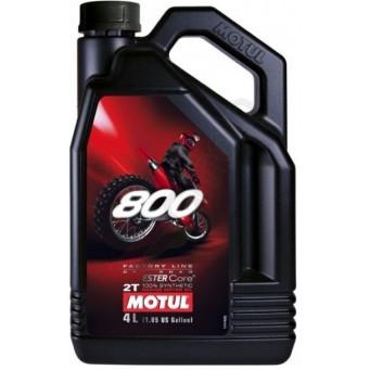 Olej silnikowy Motul 800 2T Off-road 4L Syntetyczny