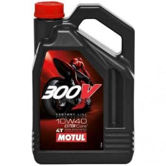 Olej silnikowy Motul 300V 10W40 Factory Line 4L Syntetyczny