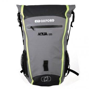 Plecak AQUA B25 Hydro OXFORD 25 l kolor czarny/fluorescencyjny/szary