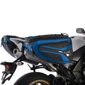 Sakwy tekstylne P50R OXFORD 50 l kolor niebieski
