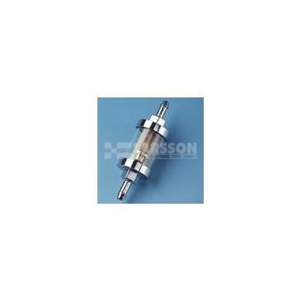 Filtr paliwa szklany/chrom 6,5 mm