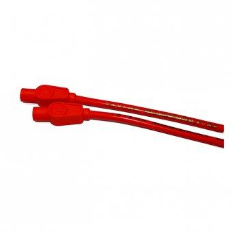 Uniwersalny zestaw przewodów świec zapłonowych harley, ThunderVolt Taylor, 8,2 mm. czerwony