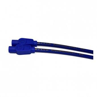 Uniwersalny zestaw przewodów świec zapłonowych harley, ThunderVolt Taylor, 8,2 mm. niebieski
