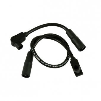 Uniwersalny zestaw przewodów świec zapłonowych harley, Pro Wire Taylor, 8 mm. czarny