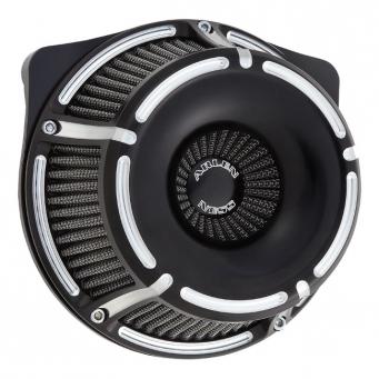 Arlen Ness Slot Track Inverted, czarny filtr powietrza do harley'a, 01-15 Softail, 04-17 Dyna